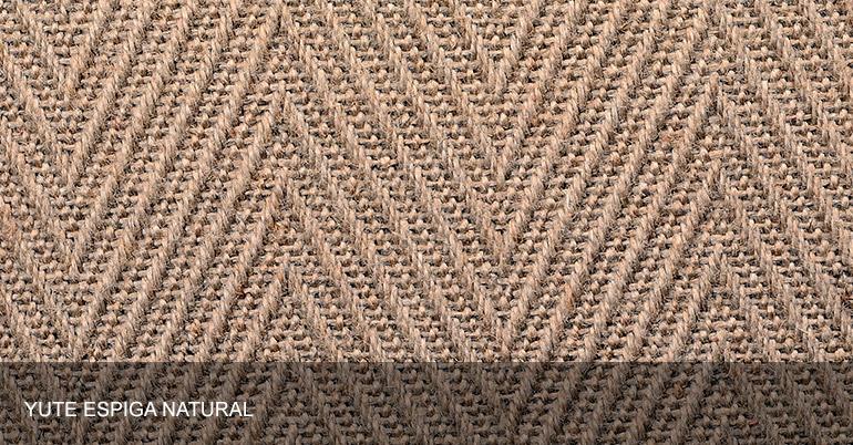 Alsina alfombras materiales yute for Alfombras de yute